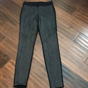 CAbi Stevie Black Faux Leather Legging XS